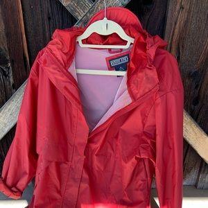 Lands End Rain Coat w/Hood-XL